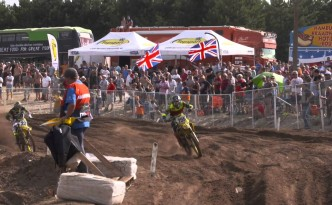 Video contents from the MXGP of Belgium
