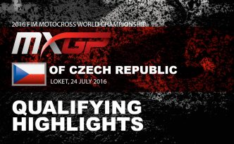 【Official Reports & Movies】MXGP of Czech Republic
